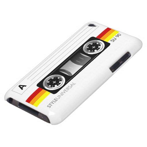 Tacto de iPod de la etiqueta de la cinta de casete iPod Case-Mate Carcasa