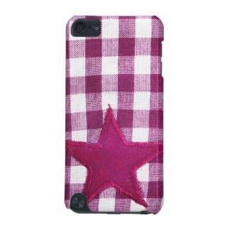 Tacto de iPod de la tela escocesa 2 de la estrella