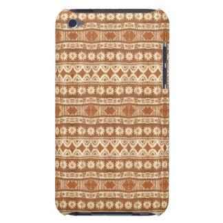Tacto de madera tribal de iPod del modelo de South Barely There iPod Coberturas