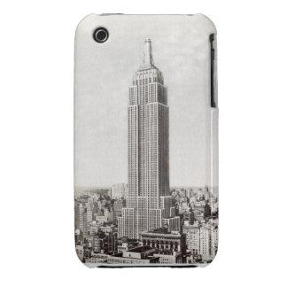 Tacto del iphone de Nueva York del Empire State iPhone 3 Carcasa
