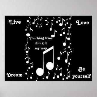 Tacto del poster de Lives_