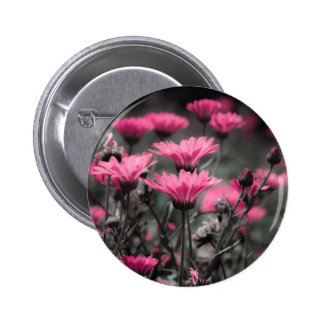 Tacto del rosa pin redondo de 2 pulgadas