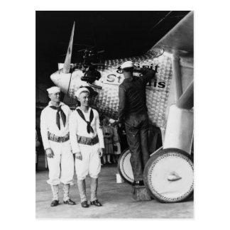 Tacto encima del alcohol de St Louis 1927 Postales