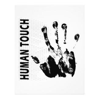 Tacto humano tarjetas publicitarias