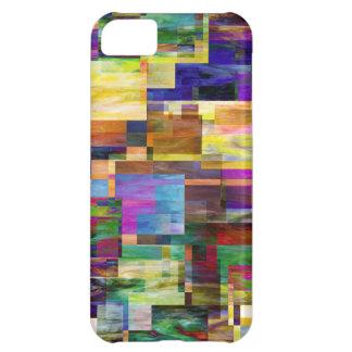 Tacto multicolor en su teléfono funda para iPhone 5C