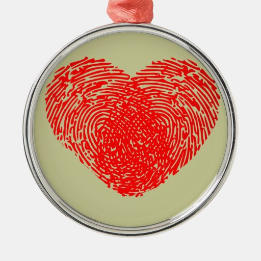 Tacto personal romántico del corazón único del amo adorno para reyes