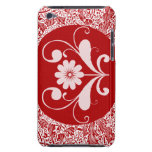 Tacto rojo barely there iPod protector