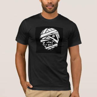 Tad Bandha the Mummy Black & White T-Shirt