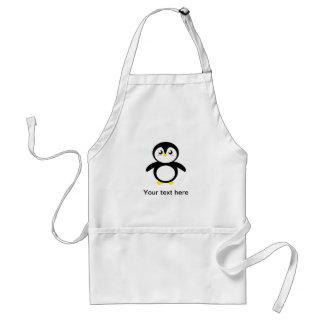 Tad the Penguin Adult Apron