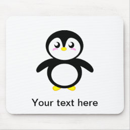Tad the Penguin Mouse Pad