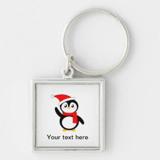 Tad the Snuggly Penguin Keychain
