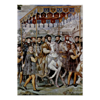 Taddeo Zuccari - entrada solemne del emperador Impresiones