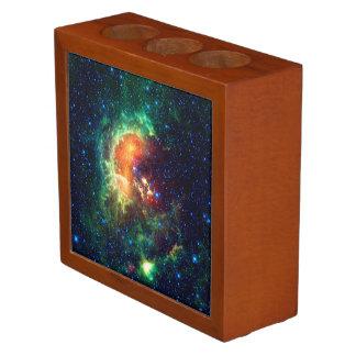 Tadpole Nebula, Auriga Constellation Desk Organizer