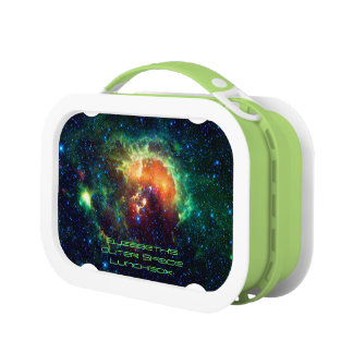 Tadpole Nebula, Auriga Constellation, outer space Lunch Box