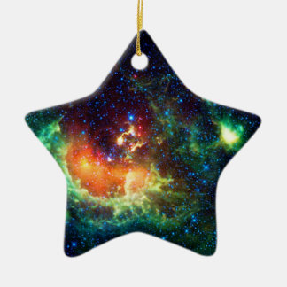 Tadpole Nebula in the Auriga Constellation Ceramic Ornament