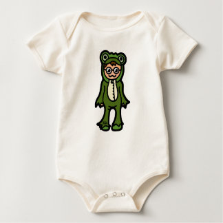 tadpole tight. baby bodysuit