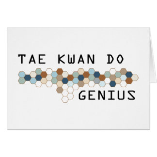 Tae Kwan Do Genius Card
