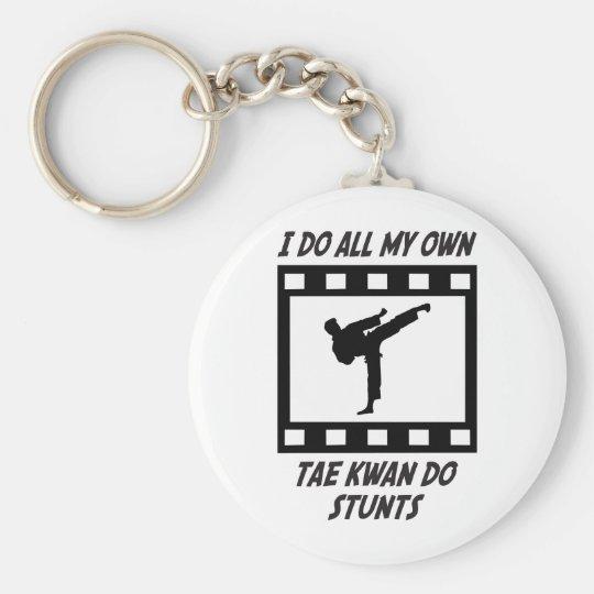 Tae Kwan Do Stunts Keychain