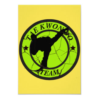 Tae Kwon Do Card