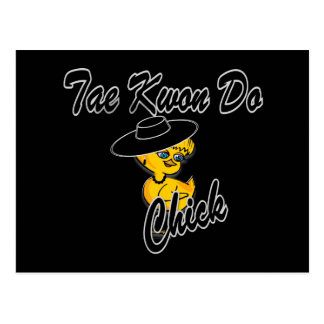 Tae Kwon Do Chick #4 Postcard