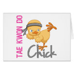 Tae Kwon Do Chick Cards