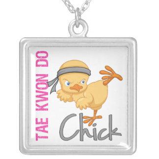 Tae Kwon Do Chick Pendant