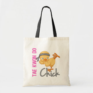 Tae Kwon Do Chick Tote Bags