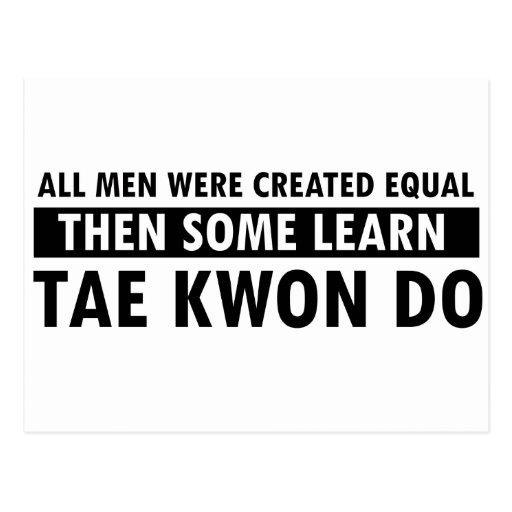 Tae Kwon Do designs Postcard