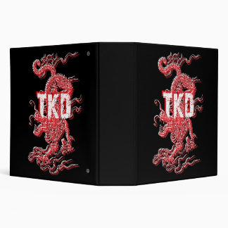 Tae Kwon Do Dragon Binder