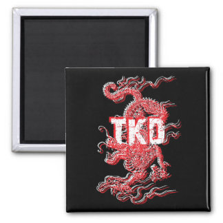 Tae Kwon Do Dragon Magnet