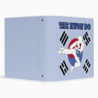 Tae Kwon Do Flyer Binder or Scrapbook