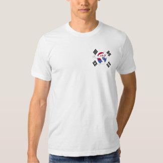 Tae Kwon Do Flyer T Shirt, Upper Left Position Tee Shirt