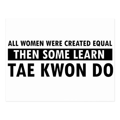 Tae Kwon Do gift items Postcards