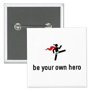 Tae kwon-do Hero Button