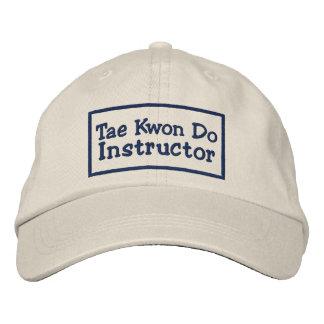 Tae kwon do Instructor Embroidered Baseball Caps