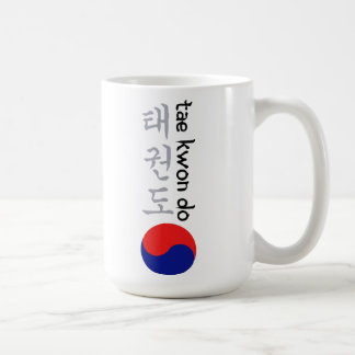 Tae Kwon Do Korean Calligraphy & Symbol Coffee Mug