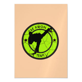 Tae Kwon Do Magnetic Card