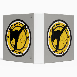 Tae Kwon DoSilhouette of Tae Kwon Do fighter. Binder
