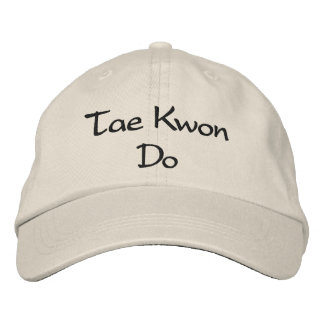 Tae Kwon Do - Stone Baseball Cap