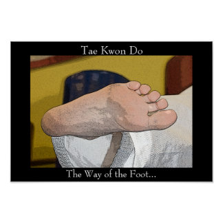 Tae Kwon Do The Way of the Foot Poster