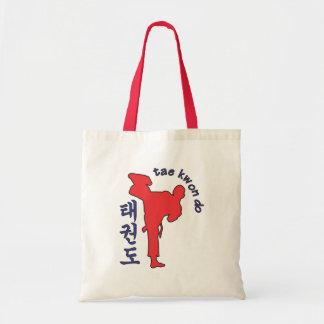 tae kwon do tote bag