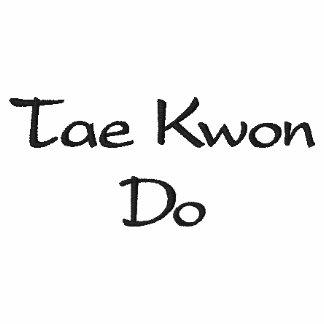 Tae Kwon Do - White Polo Shirt