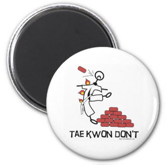 Tae Kwon Dont 2 Inch Round Magnet
