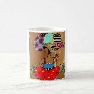Tae pi taza de café