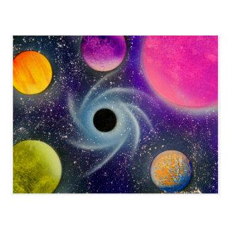 TaeDragonArt Spacescape #2 Postcard
