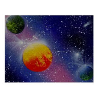 TaeDragonArt Spacescape #3 Postcard