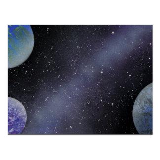 TaeDragonArt Spacescape #4 Postcard