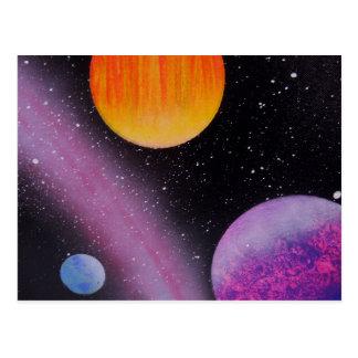 TaeDragonArt Spacescape #5 Postcard