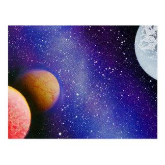 TaeDragonArt Spacescape #6 Postcard