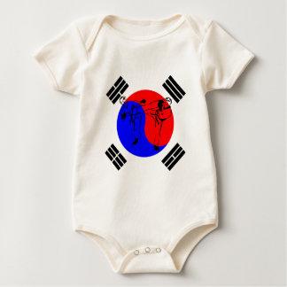 TaeKwonDo Baby Bodysuit